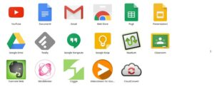 Google Chrome pagina app