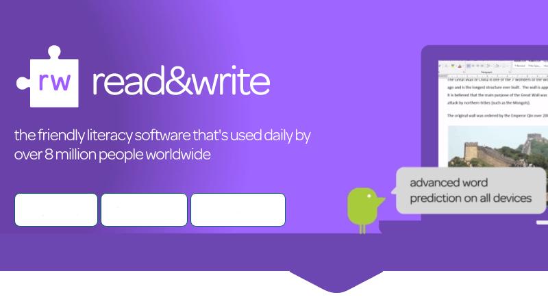 Read&Write: estensione per la lettura dello schermo