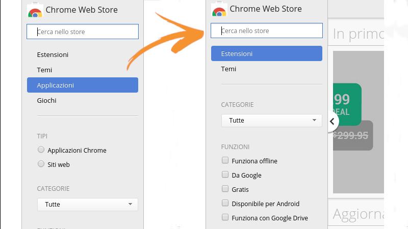 Stop alle app per Chrome