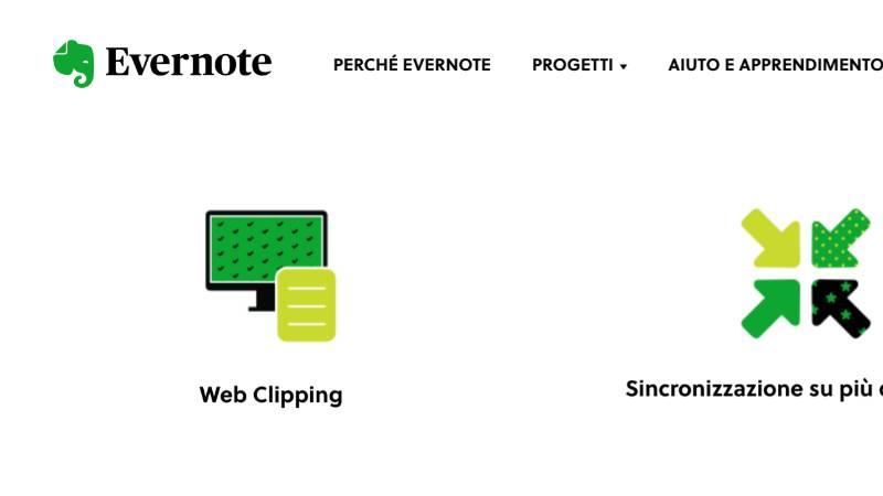 Evernote web clipper – Trasformare una pagina web in testo piano