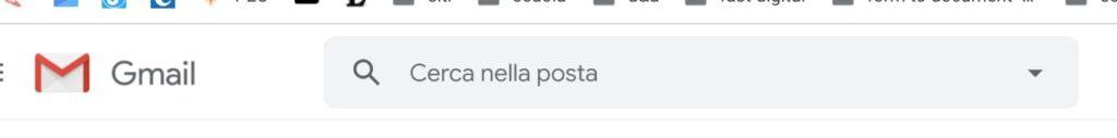 Gmail: ricerca